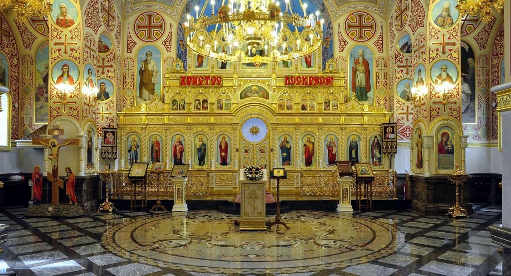 23.Внутреннее убранство храма пророка Илии